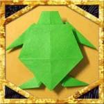 折り紙で亀の折り方!敬老の日のプレゼントに簡単な作り方