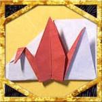 折り紙で鶴の箸袋の簡単な折り方作り方!お正月にぴったり