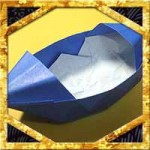 折り紙でボートの折り方!簡単立体的な作り方を紹介