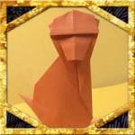 折り紙で猿(さる)の折り方!子供も簡単立体的な作り方