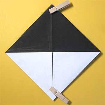 簡単 折り紙 : 折り紙パンダの折り方 : origamisho.com
