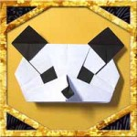 折り紙でパンダの顔の折り方!簡単かわいい作り方を紹介