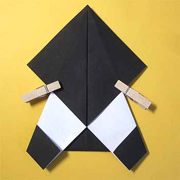 ハート 折り紙 : 折り紙 パンダ 折り方 簡単 : origamisho.com