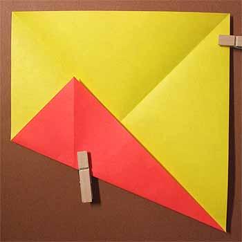 ハート 折り紙 折り紙ひまわり葉っぱ折り方 : origamisho.com