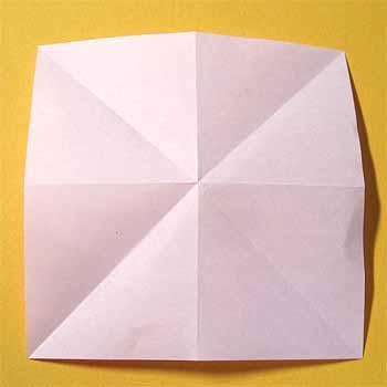 ハート 折り紙:コスモス折り紙簡単-origamisho.com