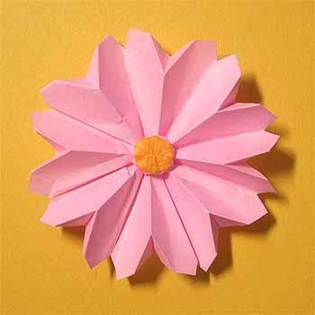 クリスマス 折り紙 折り紙 立体 花 : origamisho.com