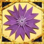 折り紙でクレマチスの折り方!簡単立体的な作り方を紹介