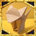 折り紙で猫の比較的簡単な折り方!立体的な作り方を紹介