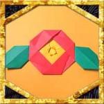 折り紙で椿(つばき)に葉の折り方!簡単な冬の花の作り方