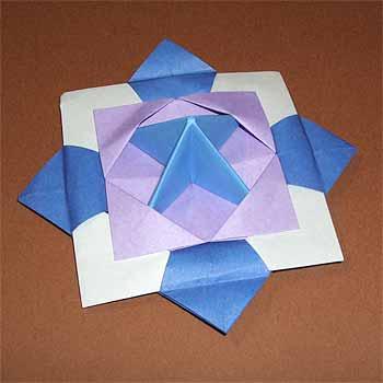折り紙の 折り紙のコマの作り方 : divulgando.net