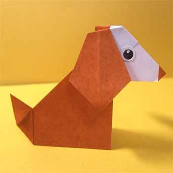 ハート 折り紙:動物の折り紙-origamisho.com