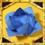 折り紙ですいれん(睡蓮)の折り方!簡単立体的な作り方