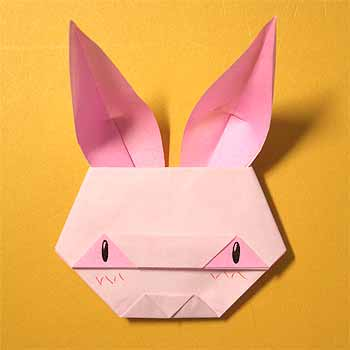 ハート 折り紙 折り紙 パンダ 折り方 簡単 : origamisho.com