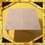 折り紙でテーブル(机)の折り方!簡単立体的な作り方を紹介