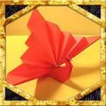 折り紙で祝い鶴の折り方!正月飾りや箸置きに簡単な作り方