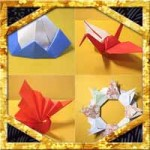 正月の折り紙まとめ!子供も簡単手作りの立体や壁面飾りの作り方
