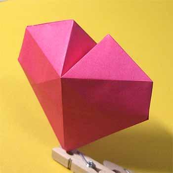 ハート 折り紙 ハート 折り紙 立体 : origamisho.com