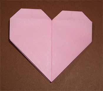 ハート 折り紙 折り紙 ベルの折り方 : origamisho.com