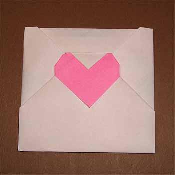 ハート 折り紙:折り紙 ハート 箱 折り方-origamisho.com