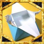 折り紙で豆入れ箱の折り方!節分に簡単飾り箱の作り方