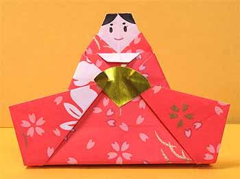 折り紙 雛人形 : origamisho.com
