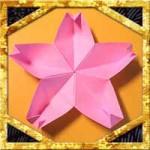 折り紙で立体的な桜の折り方!簡単切らない器や箸置きになる作り方