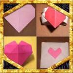 バレンタイン折り紙の折り方まとめ!色んなハート飾りの作り方