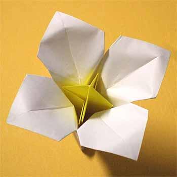 クリスマス 折り紙 簡単な折り紙 花 : origamisho.com